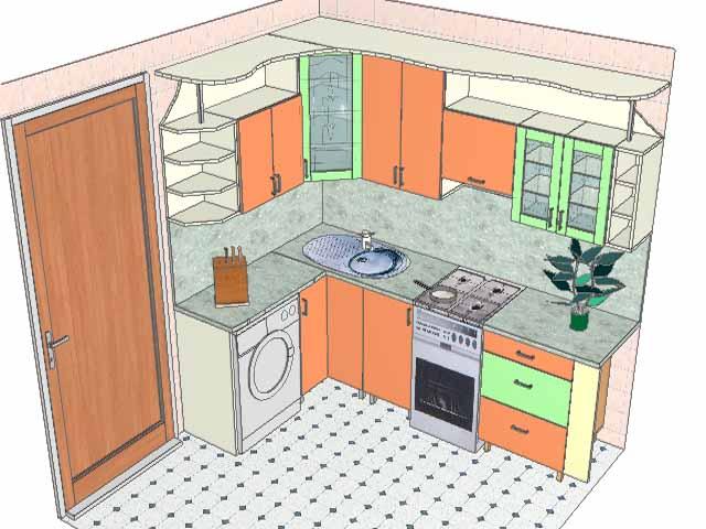 Создать самой дизайн кухни